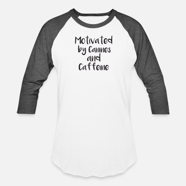 Canine Canines and Caffeine - Baseball T-Shirt