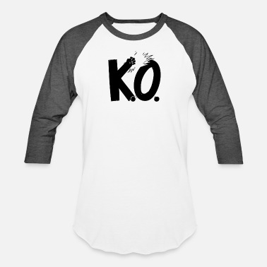 Ko New Design Get KO Top Seller - Unisex Baseball T-Shirt