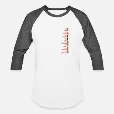 Fatigue Multiple Sclerosis Symptom Fatigue - Unisex Baseball T-Shirt