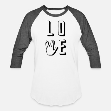 Prosperity Prosper - Love Long and Prosper - Baseball T-Shirt