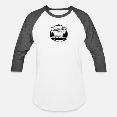 Family Reunion Duquette Family Vacation - Unisex Baseball T-Shirt