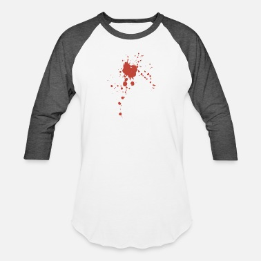 Blood Stains Blood Stain - Baseball T-Shirt