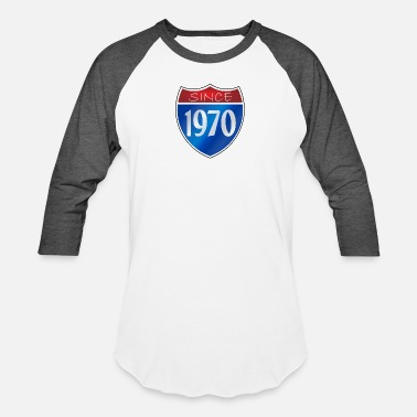 Since 1970 Since 1970 - Baseball T-Shirt