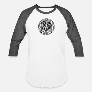 Draw Gorgon - Baseball T-Shirt