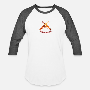 SHARPSHOOTER - Unisex Baseball T-Shirt
