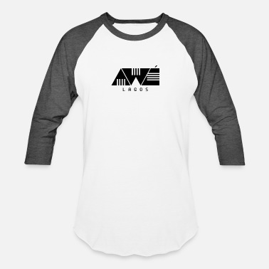 Aws AWE LAGOS - Baseball T-Shirt