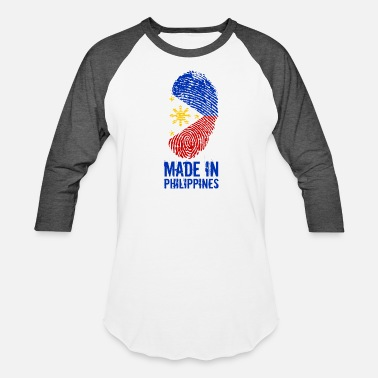 Made In Philippines Made In Philippines / Pilipinas - Unisex Baseball T-Shirt
