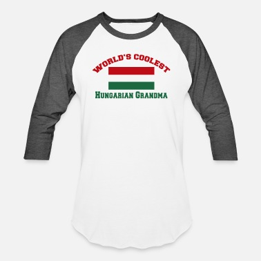 Danube Hungarian - world's coolest hungarian grandma - Baseball T-Shirt