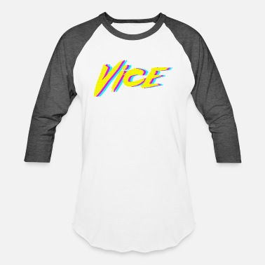 Retro Graphics Vice Neon Retro Graphic - Baseball T-Shirt