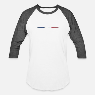 Tricolor tricolore fr - Baseball T-Shirt
