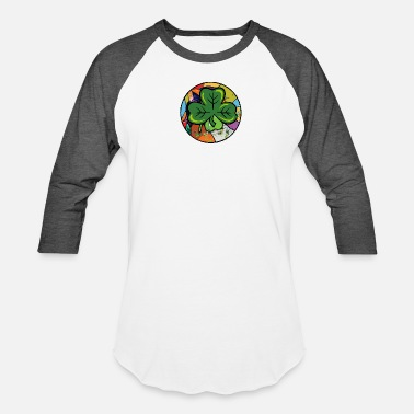 st. patricks day, shamrock - Unisex Baseball T-Shirt