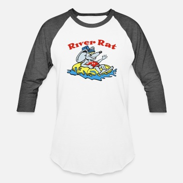 River Rat River Rat Swim - Baseball T-Shirt