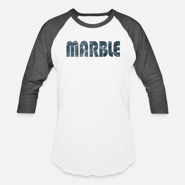 Marble Marble Word - Baseball T-Shirt