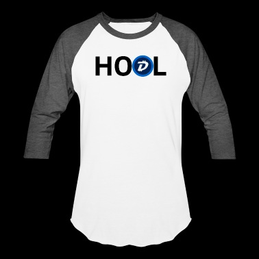 Digibyte Coin Cryptocurrency HODL - Baseball T-Shirt