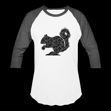 Squirrel Tee Shirt - Baseball T-Shirt