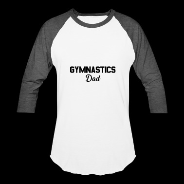 MENS GYM DAD DESIGN FATHERS DAY GIFT FUNNY DAD - Baseball T-Shirt