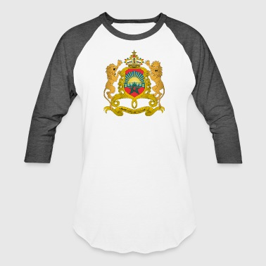 Coat of arms of Morocco svg - Baseball T-Shirt