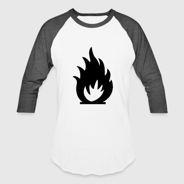 Fire Gas - Baseball T-Shirt