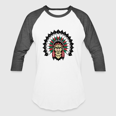 indians indian geronimo apache lakota - Baseball T-Shirt
