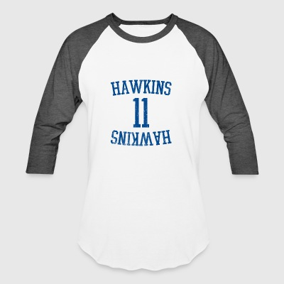 HAWKINS HIGH SCHOOL 11 T-SHIRT - Baseball T-Shirt