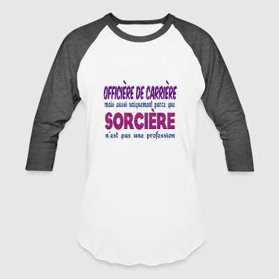 Witch Officer Career - Baseball T-Shirt