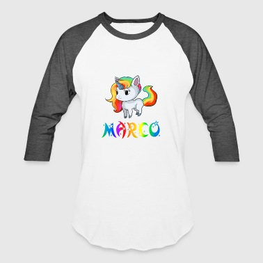Marco Unicorn - Baseball T-Shirt