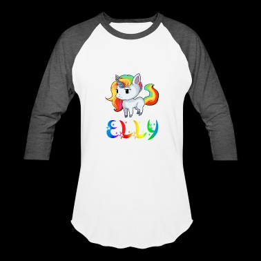 Elly Unicorn - Baseball T-Shirt