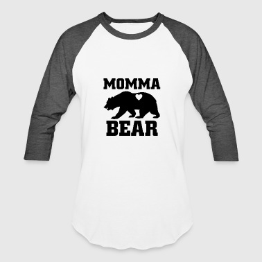 Momma Bear - Baseball T-Shirt