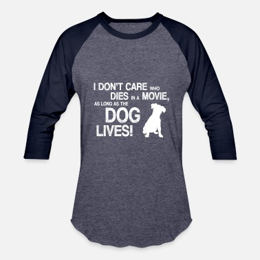 John WE LOVE THE MOVIE DOGS - Baseball T-Shirt