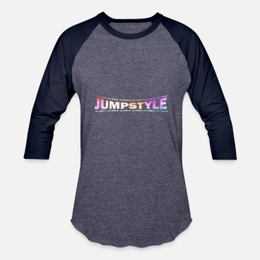 Jumpstyle LOVE TECHNO GESCHENK goa pbm JUMPSTYLE hippie - Baseball T-Shirt