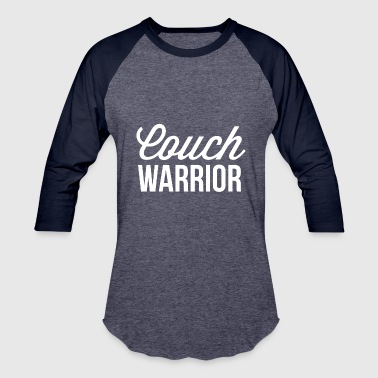 Couch warrior - Baseball T-Shirt
