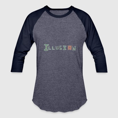 illusion - Baseball T-Shirt