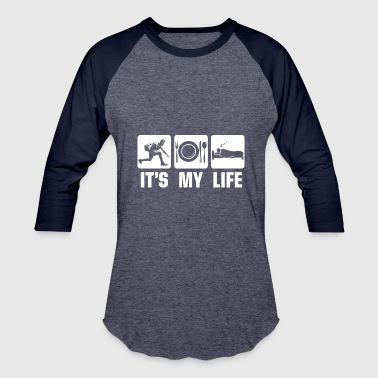 Youth Basketball Its my life Basketball - Baseball T-Shirt