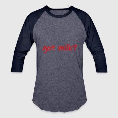 milk - Baseball T-Shirt