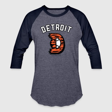 Detroit-D - Baseball T-Shirt