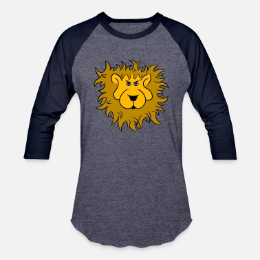 Lion Head Lion head of the lion - Baseball T-Shirt