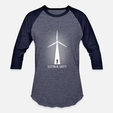 Wind Energy 2017 Electrical Safety T Shirt - Baseball T-Shirt