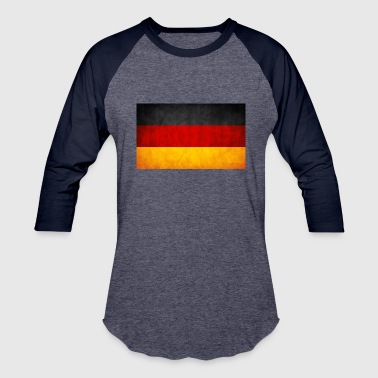 Grunge Flag germany grunge flag by think0 - Baseball T-Shirt