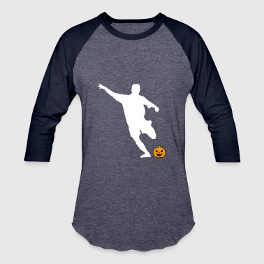 Halloween Football Player Striker - Baseball T-Shirt