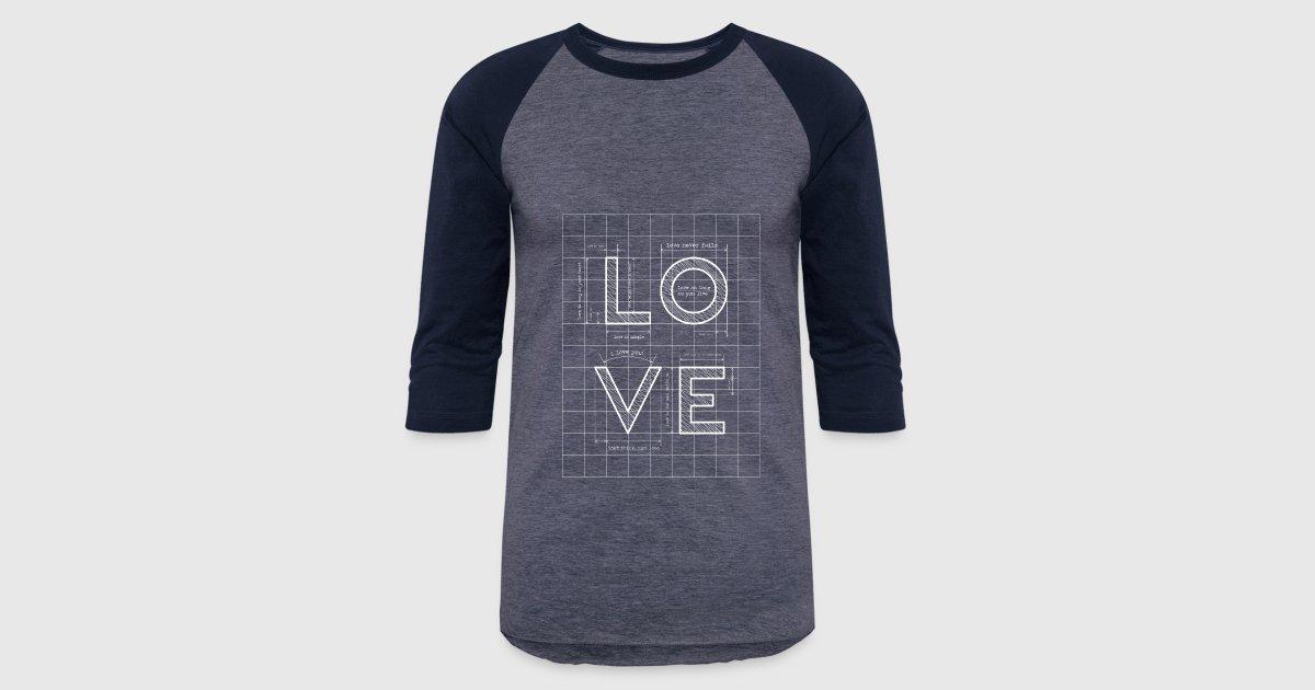 Love blueprint by t shirt express spreadshirt malvernweather Choice Image