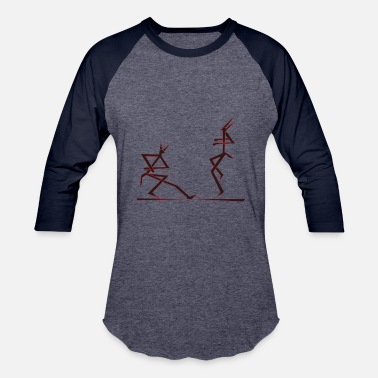 Kreatur dancing - Baseball T-Shirt