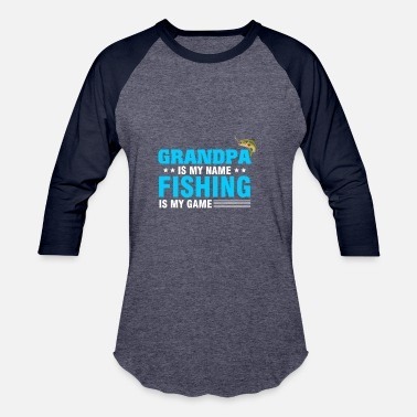 Troller Fishing T-Shirt For Grandpa From Kids. - Baseball T-Shirt