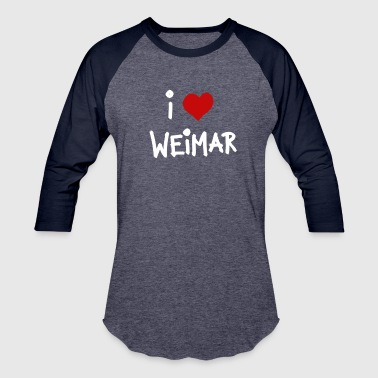 i love Weimar - Baseball T-Shirt