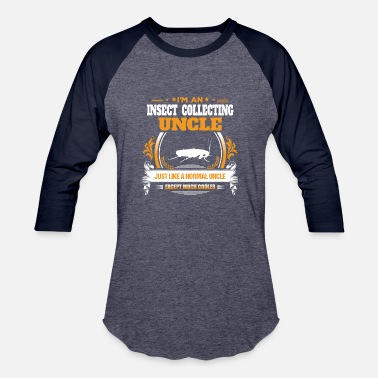 Insect Collecting Uncle Shirt Gift Idea - Unisex Baseball T-Shirt