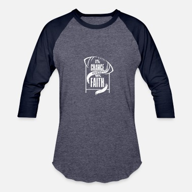 1 Chance 1% Chance over 99% Faith - Baseball T-Shirt