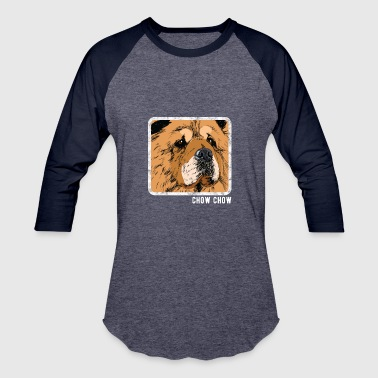 Chow Chow Dog Dogs Dogs - Chow chow - Baseball T-Shirt