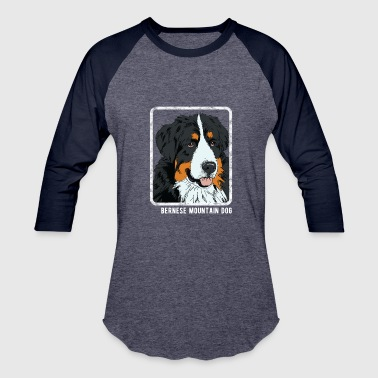 Dogs - Bernese Mountain Dog - Baseball T-Shirt