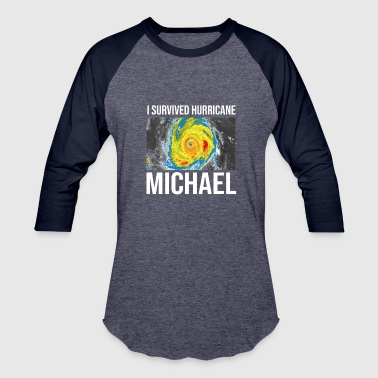 Michael I Survived Hurricane Michael TShirt - Baseball T-Shirt