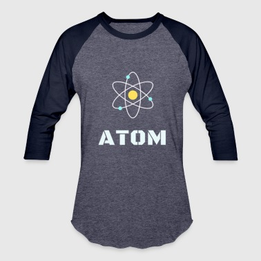 Atomic Girl atom - Baseball T-Shirt