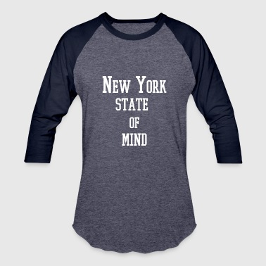 New German States New York State of Mind - Baseball T-Shirt